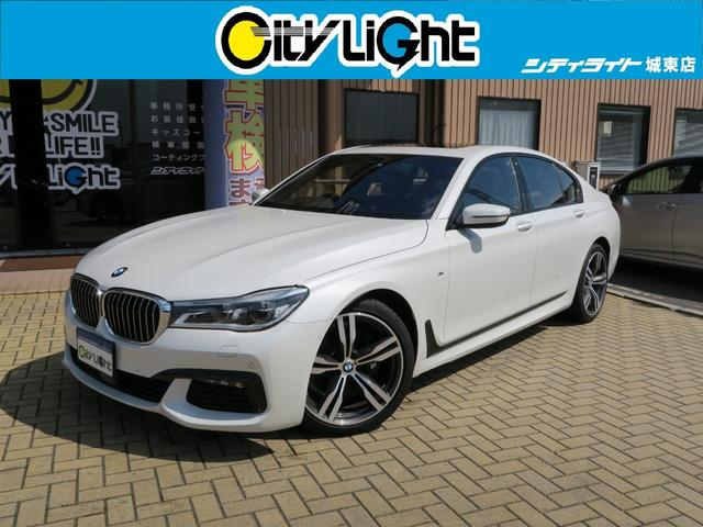 BMW 740i Mスポーツ ナビ SR 黒革シート