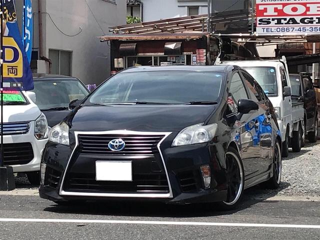 「トヨタ」「プリウス」「セダン」「岡山県」の中古車
