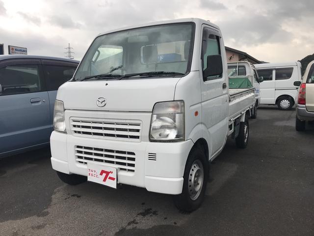 マツダ AC MT 軽トラック ETC 2名乗り ホワイト