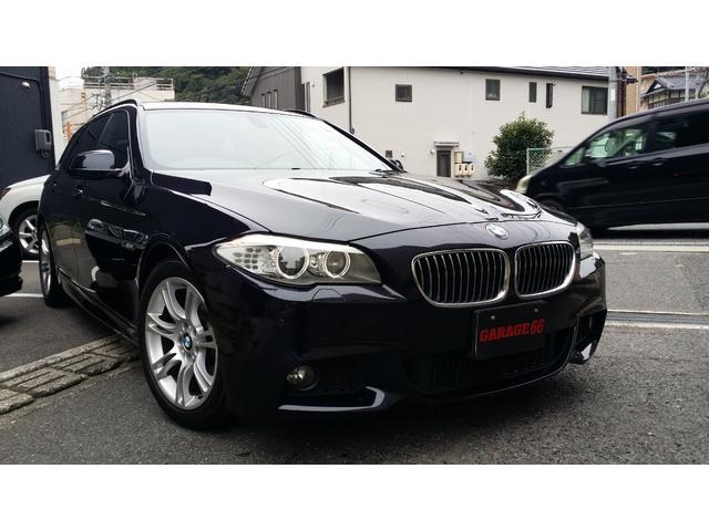 BMW 523iツーリング Mスポーツパッケージ 黒革シート