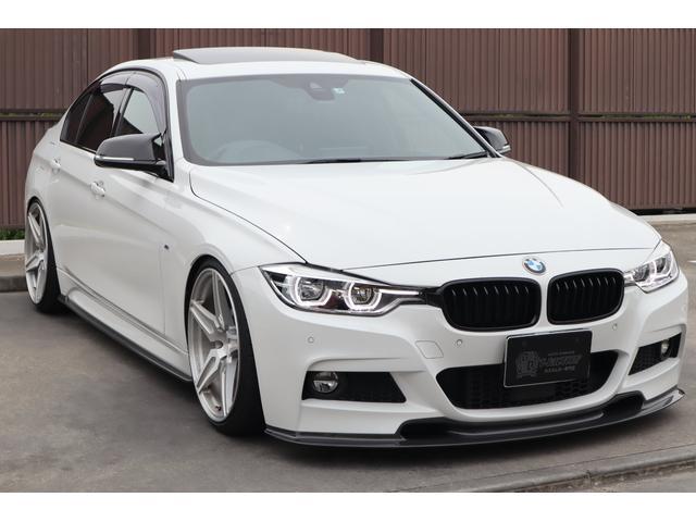 BMW 320i Mスポーツ KW車高調 20インチ鍛造