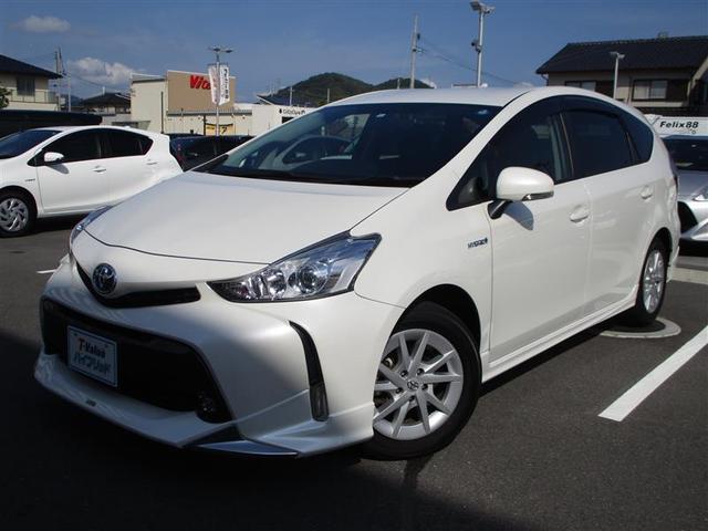 トヨタ S ワンオーナー 3列シート バックカメラ TV&ナビ CD