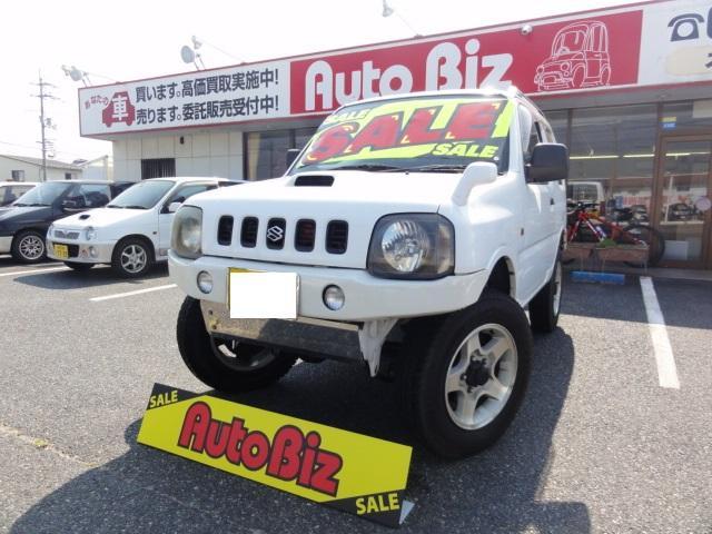 スズキ XC 切替4WD リフトアップ HID 牽引可 社外バンパー