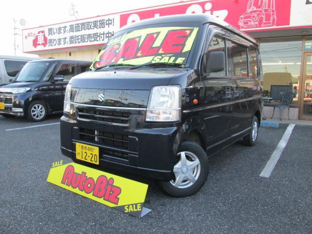 スズキ エブリイ PC 切替式4WD キーレス ABS 社外12...