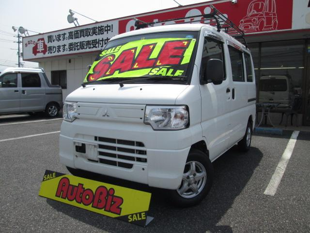 三菱 CD 切替4WD 5速MT ハイルーフ AC PS アルミ