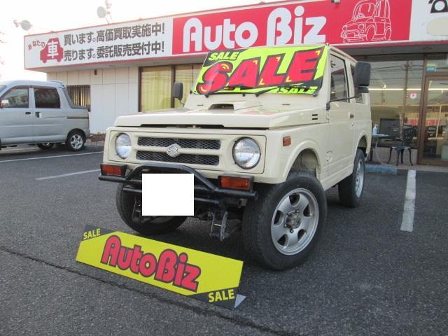 スズキ  切替4WD AT パワステ 全塗装済み CD 社外アルミ