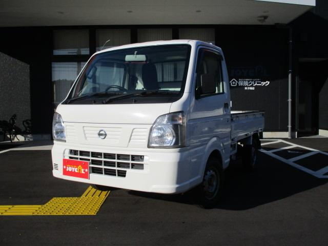 日産 DX 4WD パワステ エアコン MT 軽トラック