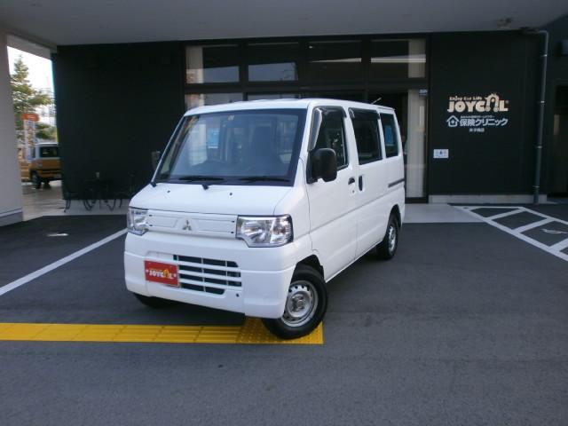 三菱 ミニキャブバン CD パワステ・エアコン・切替式4WD