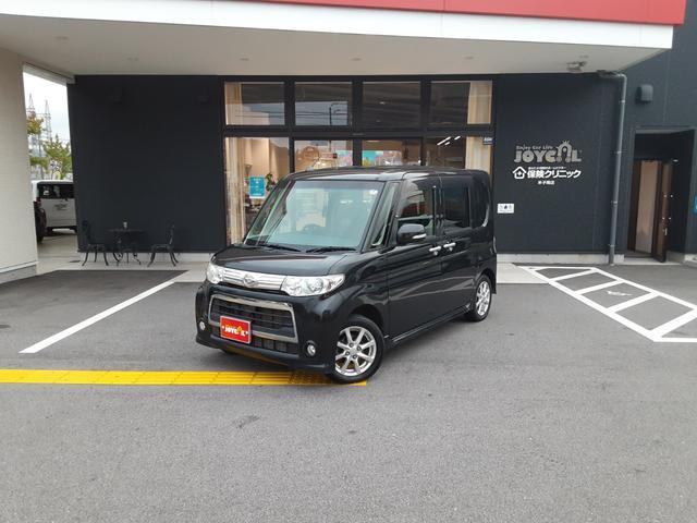 ダイハツ カスタムX 新車ワンオーナー 社外ワンセグ・ナビ キーフリー 片側パワースライドドア スマートエントリー