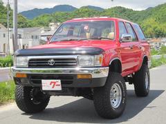 ハイラックスサーフSSR−X ワイド リフトアップ サンルーフ 背面タイヤレス