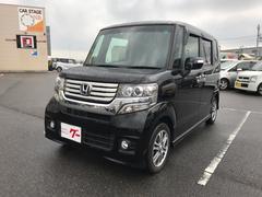 N BOXカスタムG・Lパッケージ 軽自動車 ETC クリスタルブラックパール