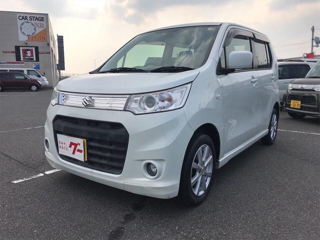 スズキ X 軽自動車 ホワイト CVT 保証付 AC 修復歴無