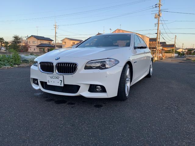 BMW 5シリーズ 523d Mスポーツ ディーゼルターボ HDDナビ バックC