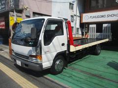 エルフトラック2t積載車 5.2Dターボ 6速MT 自動アオリ リモコン