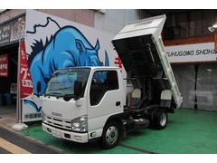 エルフトラック強化ダンプ  ETC 新免許対応 携帯充電器付 リア塗装済