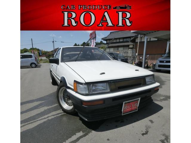 トヨタ AE86 カローラレビン 即ドリ キャブ仕様 現状 ベース車