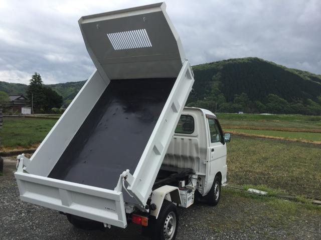 ダイハツ PTOダンプ 4WD AC PS 5速 3方開