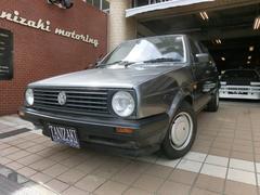 VW ゴルフCLi純正5速MTスモールバンパー2灯ライト右ハンドル