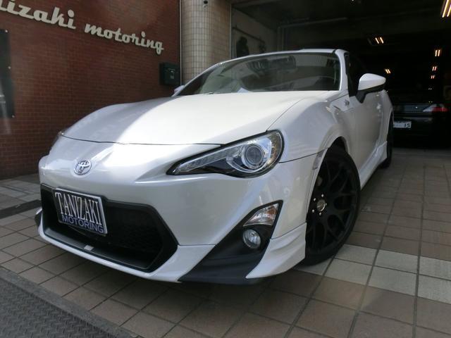 トヨタ GT地デジナビBモニターTRDエアロ&マフラー18マットAW
