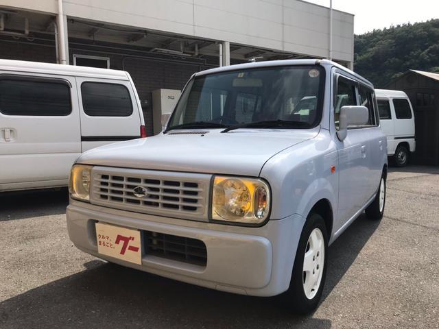 スズキ G 軽自動車 ムスクブルーメタリック 車検整備付 キーレス