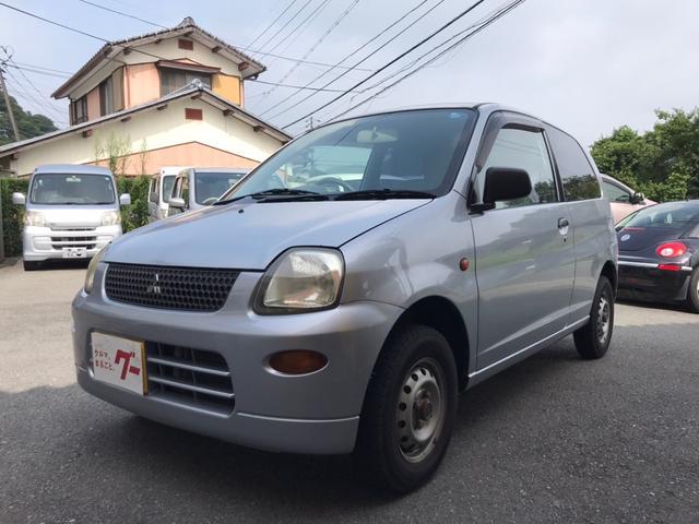 三菱 ミニカ ライラ 軽自動車 クールシルバーメタリック AT AC