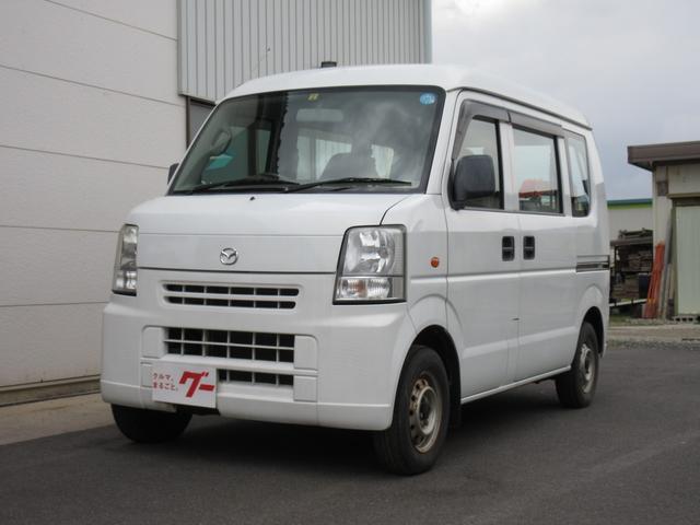 マツダ PA 4WD 5速MT エアコン パワステ 両席エアバッグ