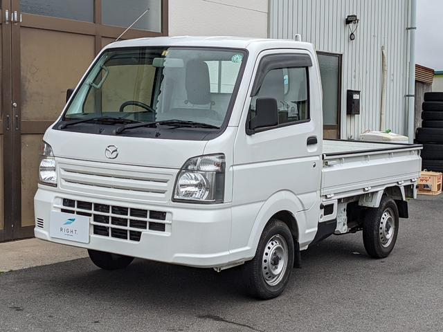 マツダ スクラムトラック KCエアコン・パワステ 4WD