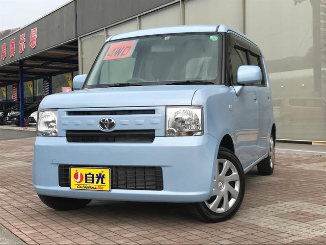 トヨタ L 軽自動車 4WD ミストブルーマイカメタリック CVT