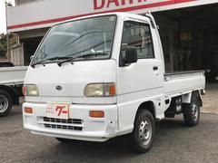 サンバートラックスペシャル 4WD 5速 作業灯 Tベルト交換済 ゴムマット