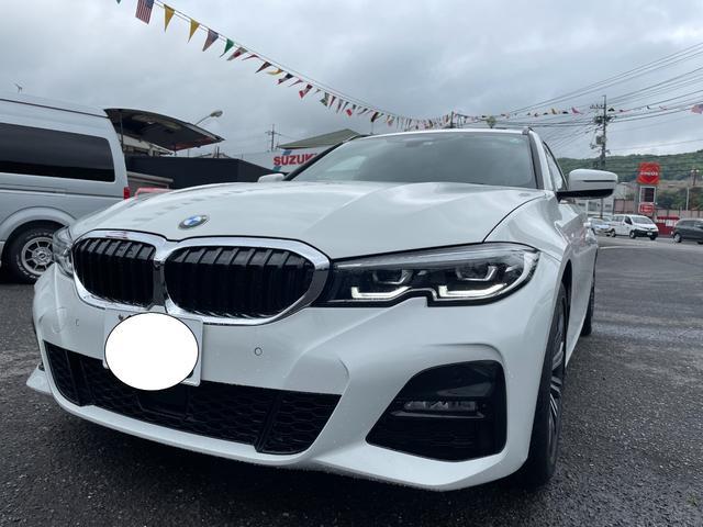 BMW 320d xDriveツーリング Mスポーツ ワンオーナー コンフォートアクセス インテリジェントセーフティー メモリー付パワーシート アルカンターラハーフレザーシート ドラレコ前後 パドルシフト シートヒーター