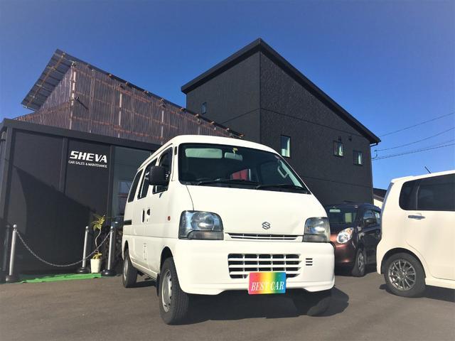 スズキ PAハイルーフ 4WD 5MT 箱バン 軽バン 商用