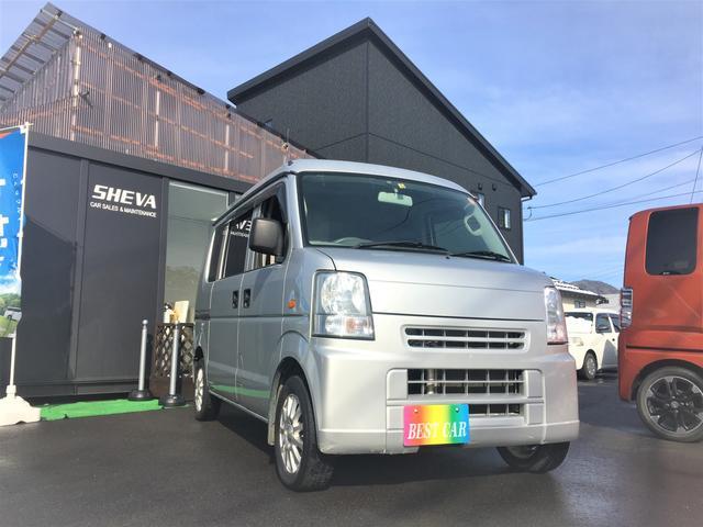 スズキ PA ハイルーフ 4WD 5MT 地デジ ナビ TV