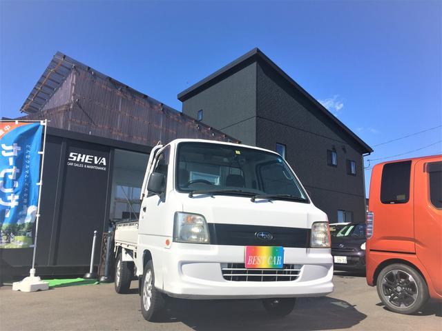 スバル TB 4WD 5MT FM 8万キロ台 新品タイヤ