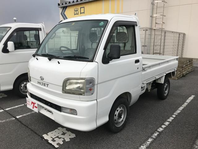 ダイハツ 4WD 5速ミッション 三方開 車検整備付 エアコン