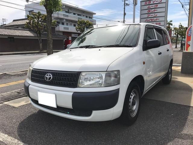 トヨタ DX 商用車 AC オーディオ付 ホワイト AT
