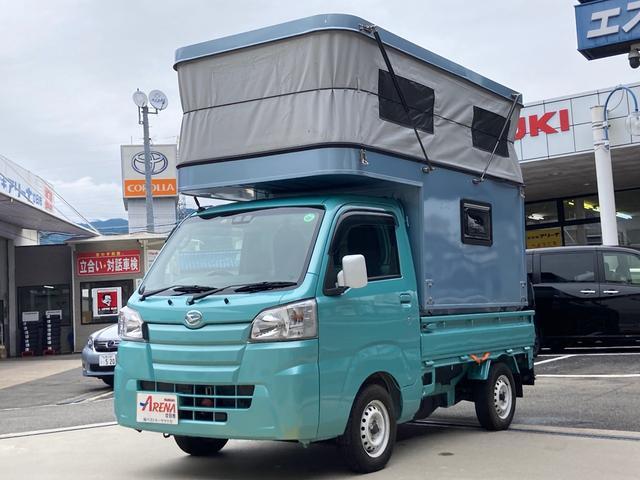 ダイハツ スタンダードSAIIIt 4WD キャンピングカー ETC ベッド TV シンク リアラダー エアコン パワステ 5速MT