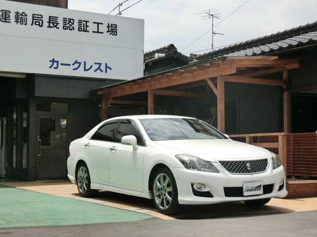 「トヨタ」「クラウン」「セダン」「広島県」「Car Crest(カークレスト)」の中古車