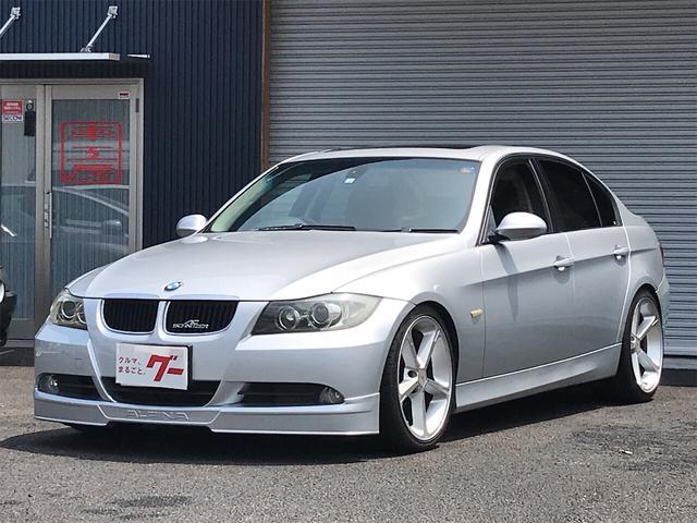 BMW 320i ハイラインパッケージ サンルーフ シュニッツァー19インチアルミ ビルシュタインショック ブレイトンスプリング ブラックレザー