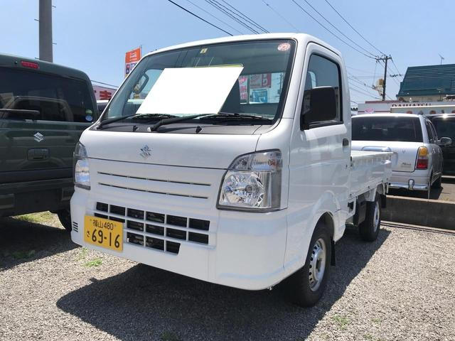 スズキ KC AC AT 軽トラック ホワイト PS