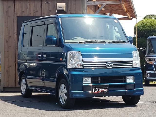 マツダ PZターボ 4WD 左パワースライドドア シートヒーター