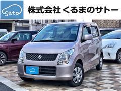 ワゴンRFX キーレス フルフラットシート ETC CDベンチシート