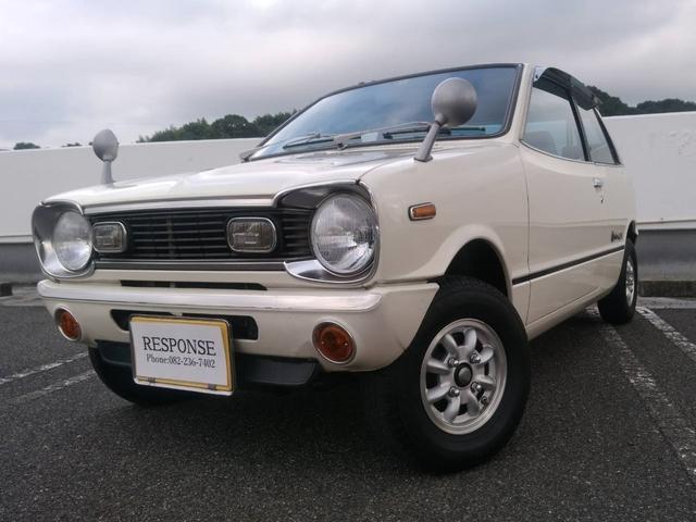 マツダ GLII オリジナル塗装 純正OPクーラー 新車時ナンバー