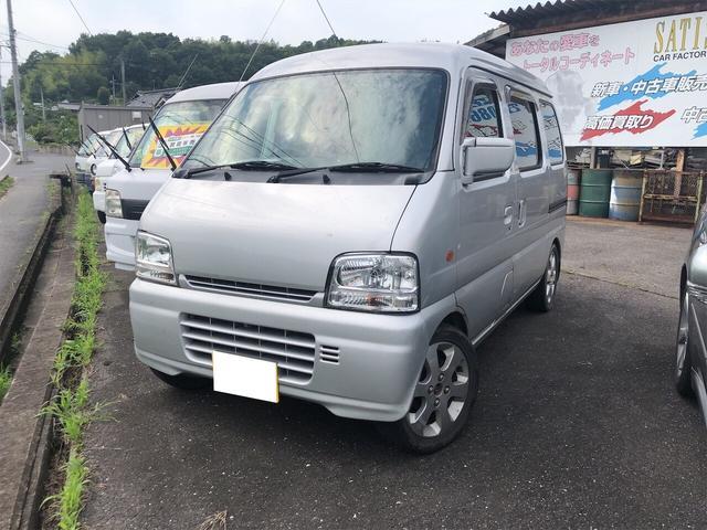 マツダ 4WD AC MT 軽バン ナビ 両側スライドドア AW