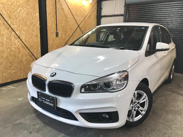 BMW 2シリーズ 218iアクティブツアラー 禁煙車 HDDナビ Bluetooth バックカメラ コンフォートアクセス パワーバックドア LEDヘッドライト 衝突軽減ブレーキ ドライブレコーダー