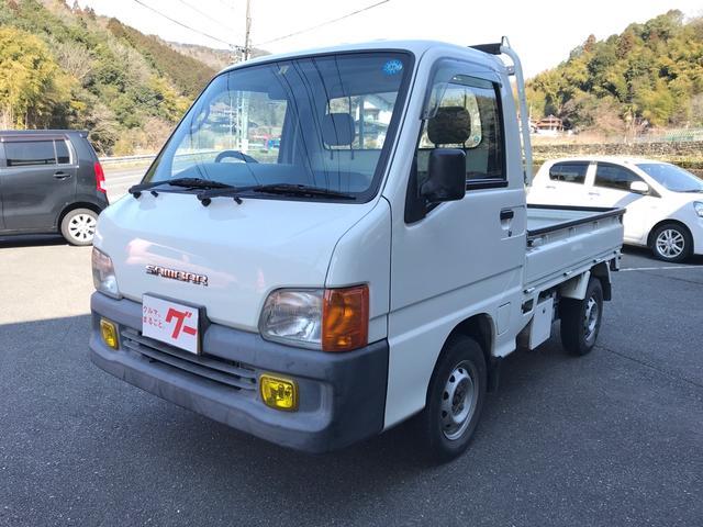 スバル TC 4WD AC MT 軽トラック 2名乗り ホワイト