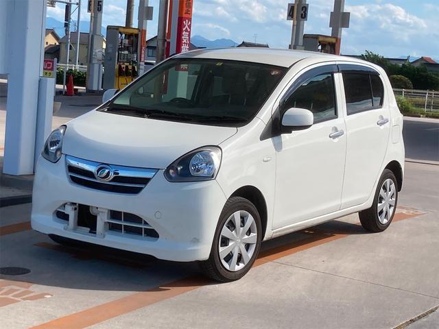 ダイハツ ミライース Xf メモリアルエディション 4WD ABS エアコン パワステ パワーウインドウ 盗難防止システム 衝突安全ボディ ホワイトカラー CDオーディオ 運転席エアバッグ 助手席エアバッグ 軽自動車