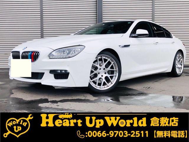 BMW 6シリーズ 640iグランクーペ Mスポーツグランクーペ 640i サンルーフ 純正ナビゲーション Bluetooth接続 ETC Bカメラ ABS ドライブレコーダー レーダー 20インチアルミホイール