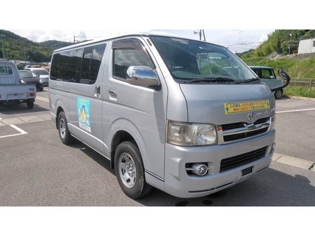 トヨタ ハイエースバン ロングスーパーGL バイオディーゼル車 天ぷら油燃料