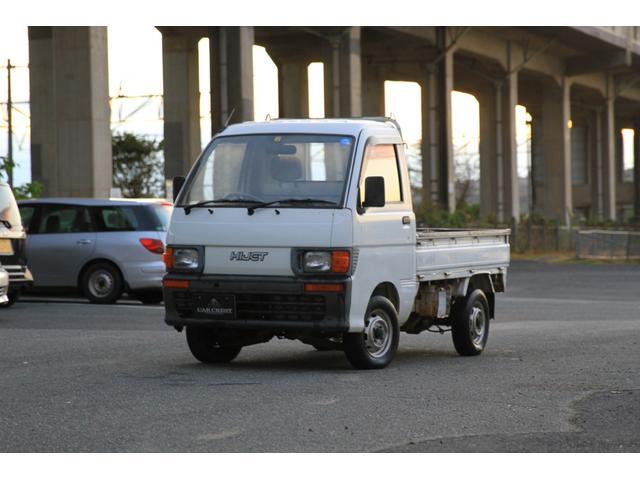 ダイハツ ハイゼットトラック ベースグレード タイミングベルト交換済み 5MT 三方開