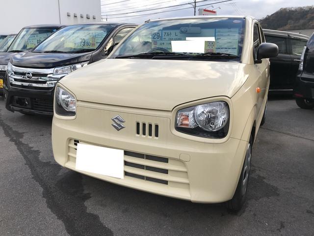 スズキ L 軽自動車 ベージュ CVT 禁煙車 AC